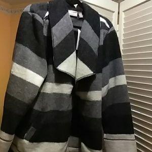 Striped wool pattern